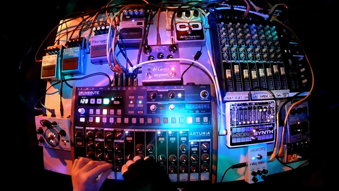 Arturia Drumbrute And A Lot Of Pedals!