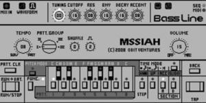 TB-303 clone on Commodore 64